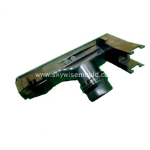 Injection mold for automotive exhaust pipe
