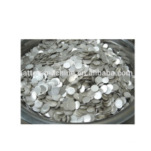 high purity lithium metal chips 0.25*15.6mm for lithium battery production materials