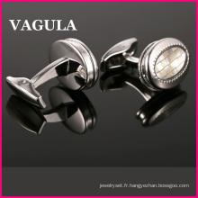 Boutons de manchettes VAGULA Super qualité Gemelos (L51472)