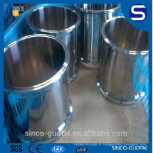 304 316 sanitaire tuyau de serrage en acier inoxydable