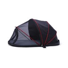 Amazon hot sales factory wholesales dog bed waterproof oxford fleece portable sleeping bag pet cat dog bed