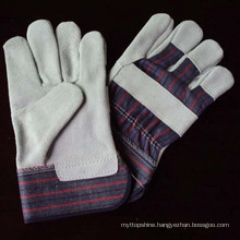 China Industrial Professional Leather Welding Safety Gloves