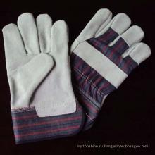 Китай Промышленные профессиональные кожаные защитные перчатки для сварки
