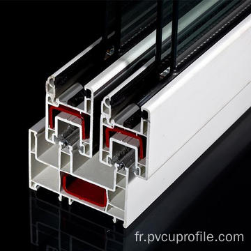 Profils coulissants en PVC pour Windows