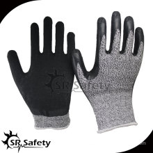 Cut Resistant Glove With latex Palm Coating/ Cut Resistant safety gloves