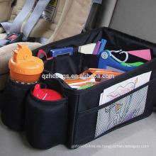 Organizador para coche con compartimiento para compartimientos múltiples y portabotellas (ES-H517)