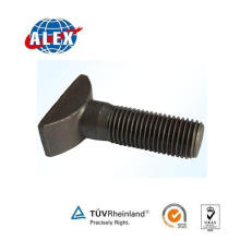 Railway Fastener Supplier Track T Bolt