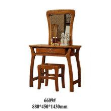 Aparador de madera, muebles de dormitorio, tocador con espejo (6609)