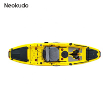 customized color 10ft single isit on top fishing kayak with pedal