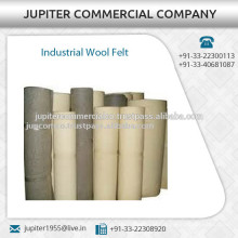 Tear proof Made Wool Felt for Industrial Use Available in Various Size