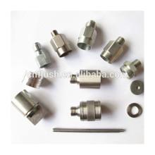 Pieza de torneado de acero CNC a medida por mecanizado de precisión