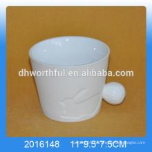 Taza linda del conejo de la porcelana, taza del conejo de la porcelana, taza animal del porcelana