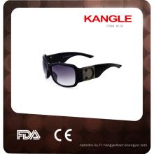 vente chaude et lunettes de soleil en plastique personnalisées