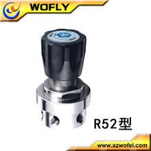 Melhor do regulador de pressão de ar do material SS com medidor