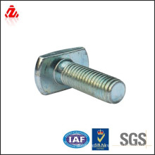 Zinc plated carbon steel T bolt