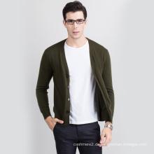 Mode-Stil tragen bequem warm halten lange Strickjacke Männer