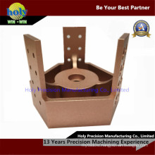 Main Hub Rose Gold CNC Aluminum Machining CNC Machined Parts