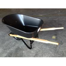Brouette de roue de jardin en bois robuste Wh6601