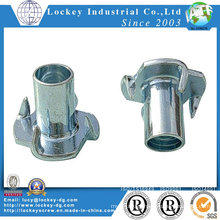 Low Carbon Steel Tee Nut Zinc Plated