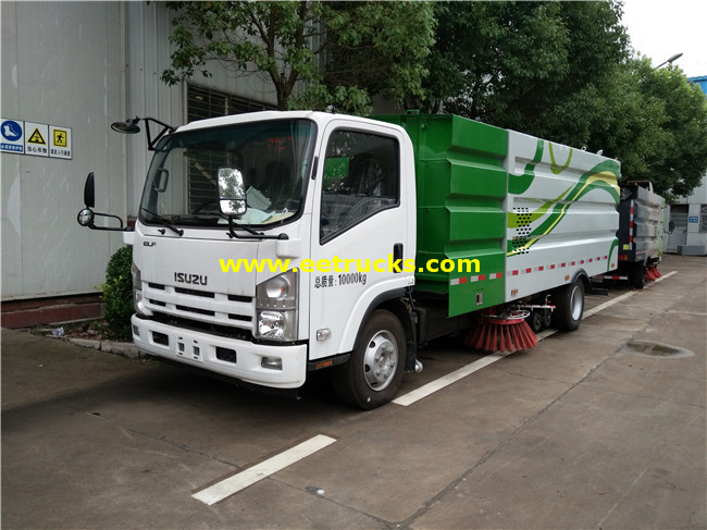4x2 5000L Street Cleaning Trucks