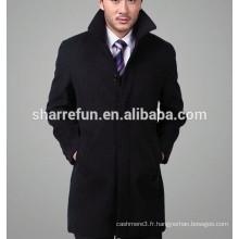 Pardessus de cachemire de luxe de style classique hommes Made in China
