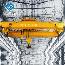 Электрический тонну мостовые мостовые мостовые положение крана кабина управления с кондиционером воздуха