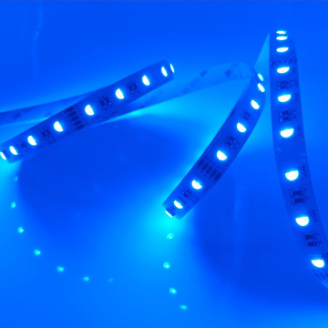 Tira de luz LED RGB flexible de alto brillo de 5M