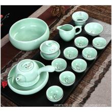 Pintado a Mano China Celadon, Set de té Cerámica