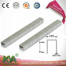 Galvanized 10 J Staples for Joining, Furnituring