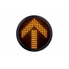 Module de feu de signalisation de la flèche LED jaune de 300mm