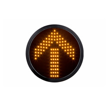 Módulo amarelo do sinal do diodo emissor de luz da seta de 300mm 12 polegadas
