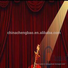 Décoration de scène en Chine rideaux et rideaux prêts à l'emploi
