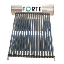 Chauffe-eau solaire non pressurisé à haute efficacité