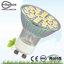 gu10 led dimmable 3w led projecteur