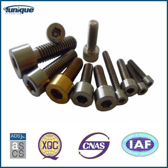 High Stength Titanium Fastener Factory Directly Sale
