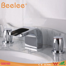 Waterfall Double Handle Bathroom Faucet
