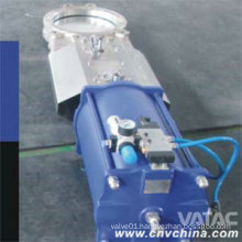 Wcb/CF8/CF8m Body Wafer Knife Gate Valve with Pneumatic Actuator