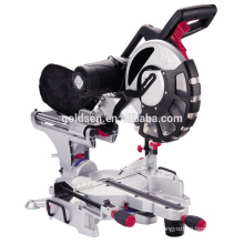 "305mm 12"" 2000W Wood Cuttign Double Bevel Sliding Miter Saw with Twin Laser GW8038H"