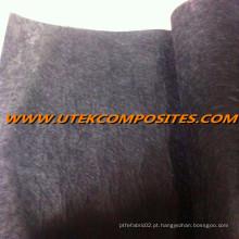 Tecido 10G / M2 da fibra do carbono para a superfície