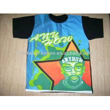 2011 new style t shirts with heat transfer
