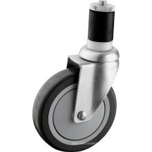 Medium Duty 5 Inch PU Caster Wheels