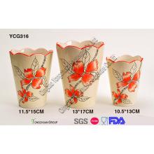 Pots de plantes décoratives en céramique