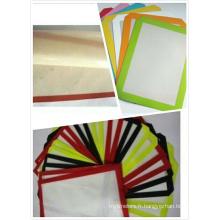 Tapis en tissu en caoutchouc de silicone