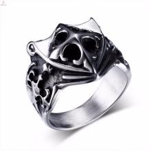 Новый дизайн винтажный серебряный щит мужские кольца крест