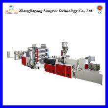 Plastik PVC-Blatt-Verdrängungs-Linie (0.2-2.0mm Stärke)