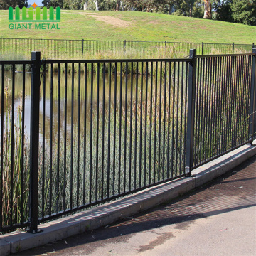 durable cheap zinc  Steel picket fence