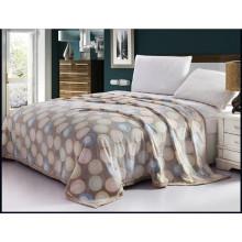 Cheap Wholesale cama flanela tecido velo cobertor