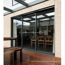 Janelas e portas de alumínio dobráveis de ventilação passiva opcional
