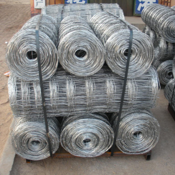 Fixed Knot Woven Wire Farm Zaun