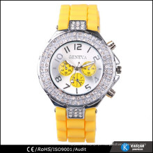 Diamante japão movt senhora relógio